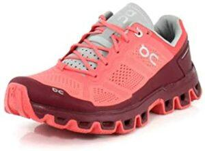 On Running Womens Cloudventure CoralMulberry
