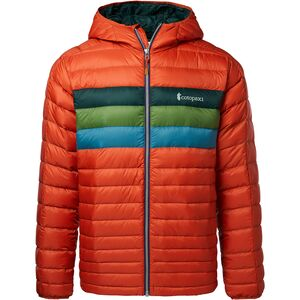 Fuego Hooded Down Jacket Mens