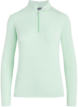 Tasc Performance St. charles Bamboo Quarter - Zip Top - Women's