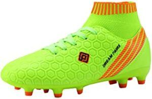 DREAM PAIRS Boys Girls Soccer Football Cleats Shoes(Toddler:Little Kid:Big Kid)